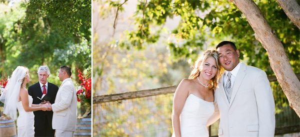 Wedding Koehler Winery California