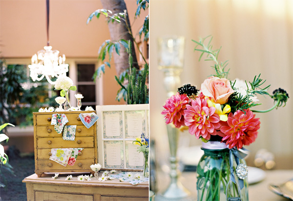 Vintage Wedding Santa Barbara Montecito